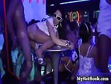 Brutal Orgía Veraniega En Una Discoteca