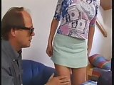 Young Brunette Analfucked By Old Man