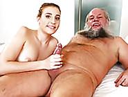 Old Guy Fucks Lulu Love's Teen Pussy