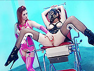 Angel Summer And Tiffany Doll Share A Dick During A Bdsm Game