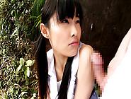 Shy Girl In The Park - Japanstiniest