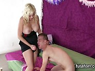 Chicks Penetrate Dudes Anal With Big Strapons And Burst