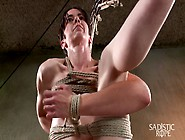 Newbie Gets The Full Treatment Extreme Bondage And Brutal Tormen