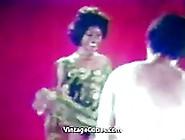 Gorgeous Ebony In A Heat Of A Fuck (1960S Vintage)