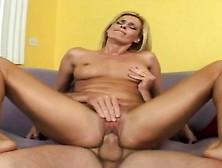 Horny Darryl Hanah Wraps Her Pussy Lips Around Dave Hardman's Bi