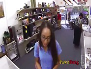 Nice Facial For Skinny Tight Latina In Pawn Shop 0001