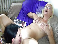 Old Nanny Gets Her Pussy Licked And Sucked