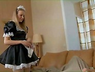 Russian Teen Maid Strong Anal Sex