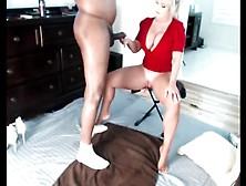 Horny Milf Give While Masturbating