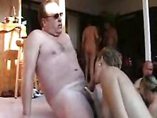 Mature Swinger's Party By The Pool With Hot Oral And Bangin
