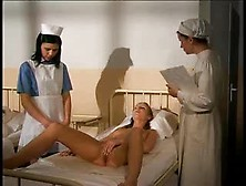 Nurse Masturbates In Front Of Her Patient