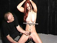 Amateur Bdsm And Tit Torture Of Cute Sub Chaos In Pussy Clamped