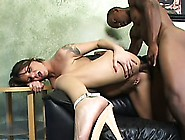 Busty Brunette Cougar Kayla Reveals Her Passion For Black Cock A