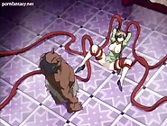 Anime Cutie Gets Massive Dick