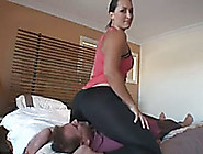 Homemade Femdom Clip With My Wife Sitting On My Face