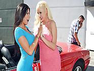 Romi Rain & Summer Brielle & Danny Mountain In My Dad Shot Girlf