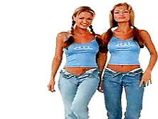 The Bernaola Twins - Playmate Of The Month January 2000