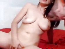 Amateur Teen Couple Masturbating