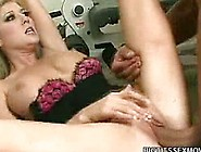 Big Tit Blonde Michelle Gets Pussy Pounding