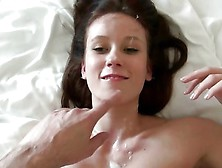 Covered In Cum At Her Casting