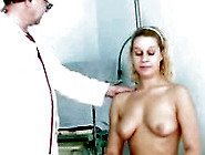 Hairy Pussy Blonde Abused By Freaky Doctor