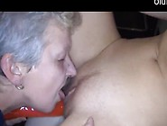 Granny Licks Barely Legal Teenie's Pussy