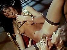 Asian Lesbian In Nylon Stockings Widening Legs Enjoying Pussy Li
