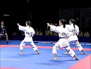 Karate Female Team - Serbia Vs Italy Part 2