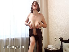 Hairy Woman Solo Fuck