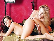 Photo Shooting Lesbian Action With Aspen Ora And Nikki Knightly
