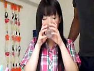 Jap Schoolgirl Gets Black Creampie