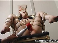 Tied Up And Teased With Wax