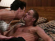 Brunette Short Haired Sex Addict In Vintage Porn Action
