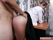 Office Slut Dakota Vixin Sucks And Pounded On The Couch