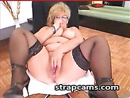 Big Tittied Granny Shows Off