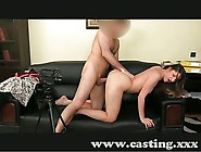 Casting Silky Smooth Ass Gets Moisturised With Spunk