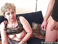 Mature Woman Got A Bit Drunk And Invited Her Neighbor To Her Pla