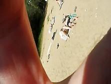 Transparent Bikini On Beach