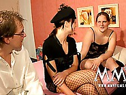 Chubby Amateur Broad Gets Coached Through Her First Anal Experie