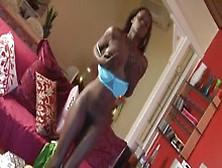 Hairy Ebony Teen Aamina Solo