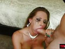Curvaceous Honey Rachel Roxxx Shows Her Deepthroating Skills