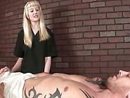 Dominant Cbt Mistress Ropes His Hard Cock