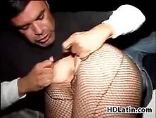Latin Hooker Getting Abused