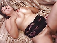 Busty Mature Gal Gets Her Hairy Pussy Drilled