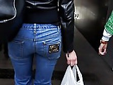 Young Milf's Ass In Action