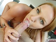 Angel Blade Is Riding Popped On A Huge Penis