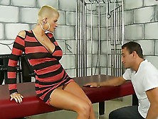 Joslyn James Is A Cool Blonde With Enormous Boobs Who Adores Mak