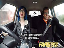 Anal Sex Loving Girl With Blue Hair Is About To Get Banged In Th
