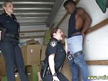 Angelina Valentine Cop And Pawn Shop Police Black Suspect Taken