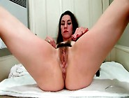 Sexy Dark Pubic Hair On Skinny Milf